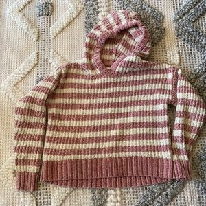 Justice girls chenille sweater